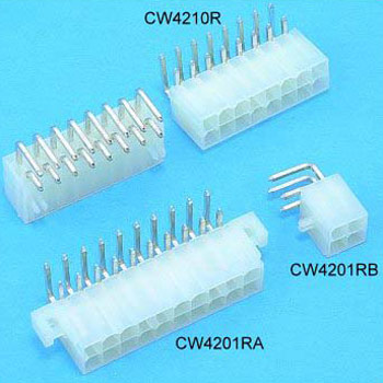 Power Dual Row connectors Wafer